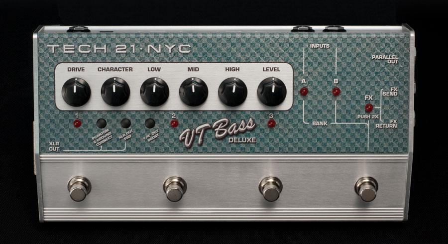 TECH21 SansAmp VT Bass DELUXE ベース用アンプシミュレーター DIボックス