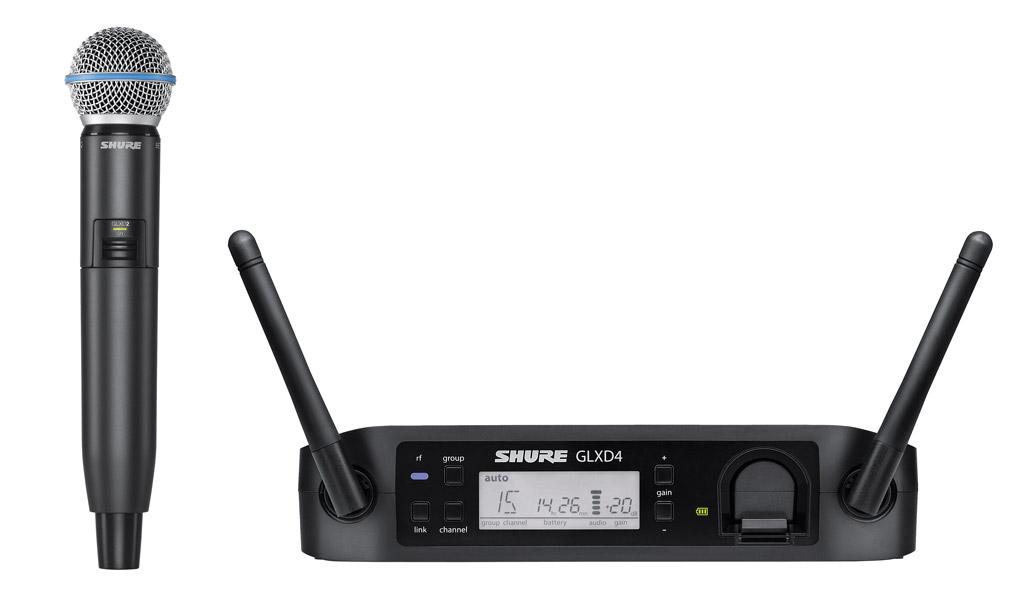 (お取り寄せ)SHURE GLXD24 / BETA 58A シュアー デジタル・ワイヤレス・システム(国内正規品)