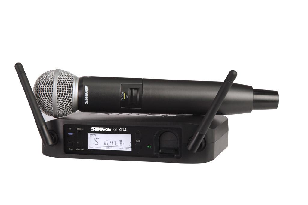 (お取り寄せ)SHURE GLXD24 / SM58 シュアー デジタル・ワイヤレス・システム(国内正規品)
