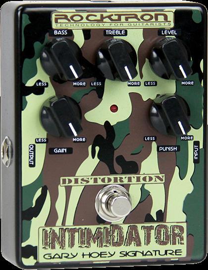 (お取り寄せ)ROCKTRON INTIMIDATOR ゲイリー・ホーイ シグネチャー・ペダル ディストーション( RT1807)