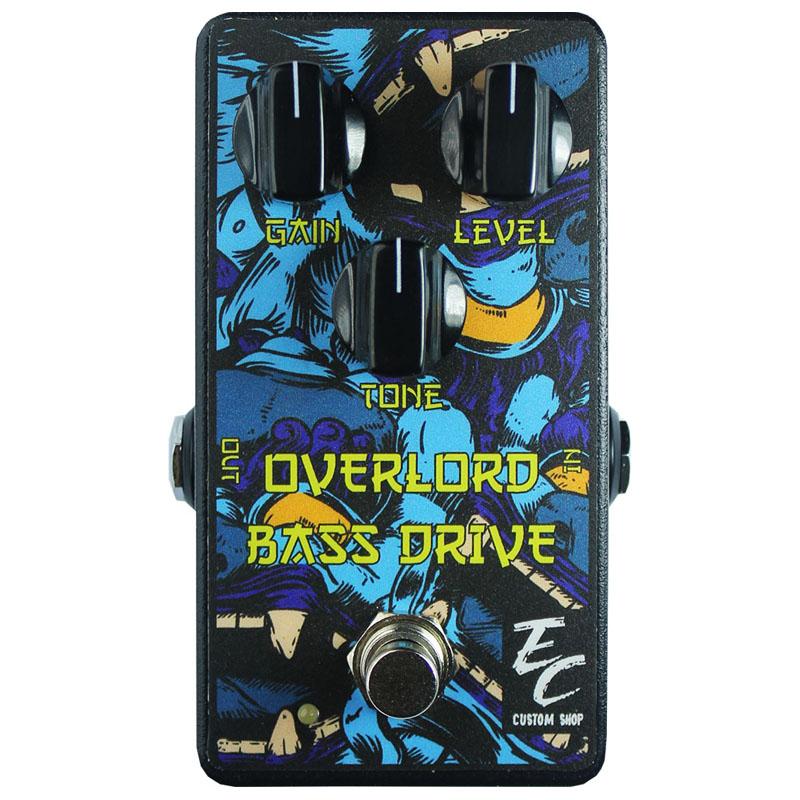 BASS OVERLORD DRIVE EC Custom Shop ベース・オーバーロード ベース用オーバードライブ