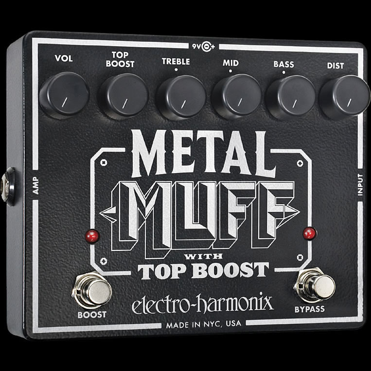 Metal Muff Distortion with Top Boost エレハモ メタル・ディストーション Electro Harmonix/エレクトロハーモニクス(正規品)