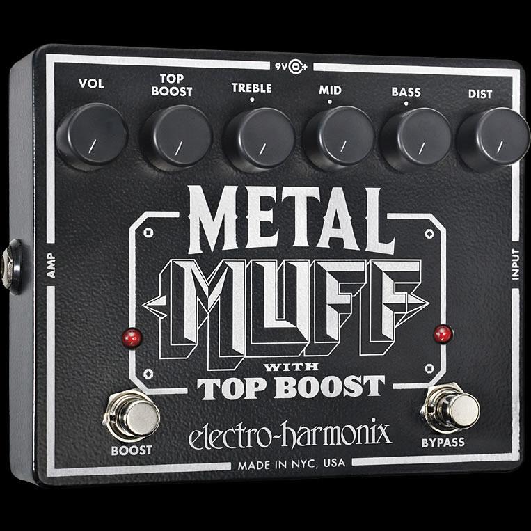 (お取り寄せ)Metal Muff Distortion with Top Boost エレハモ メタル・ディストーション Electro Harmonix/エレクトロハーモニクス(正規品)