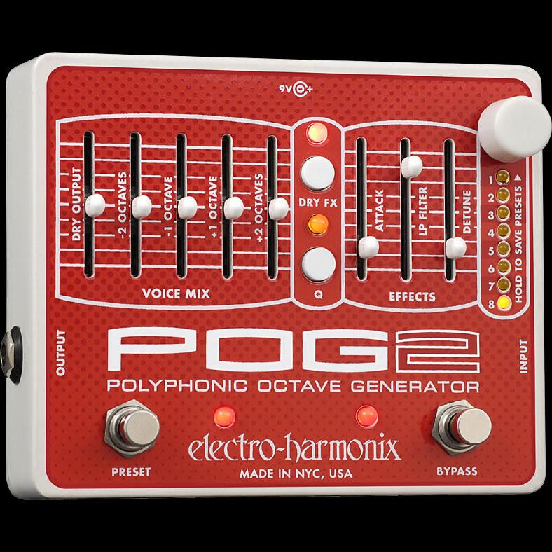 POG2 Polyphonic Octave Generator ポリフォニック・オクターブ・ジェネレーター Electro Harmonix/エレクトロハーモニクス(正規品)