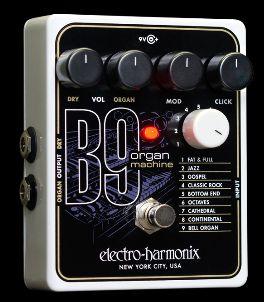 electro-harmonix エレクトロハーモニクス B9 Organ Maching オルガンマシン ACアダプター付き(正規品。保証書付き属)