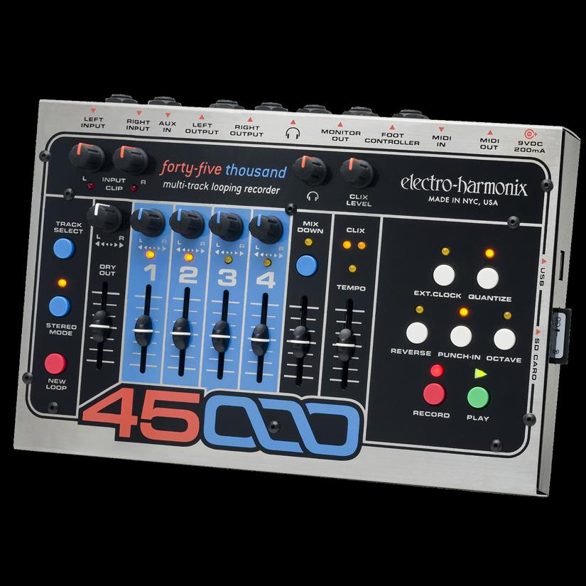 electro-harmonix/エレクトロハーモニクス 45000 Multi-Track Looping Recorder マルチトラック・ルーピング・レコーダー