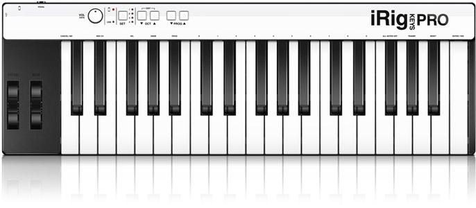 IK Multimedia iRig Keys Pro USB MIDI Keyboard Controller **BRAND NEW**