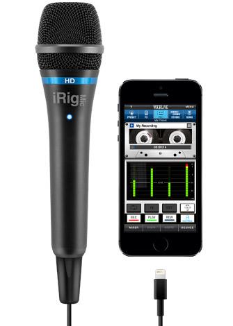 (お取り寄せ)(正規品)IK Multimedia iRig Mic HD デジタル・コンデンサー・マイク