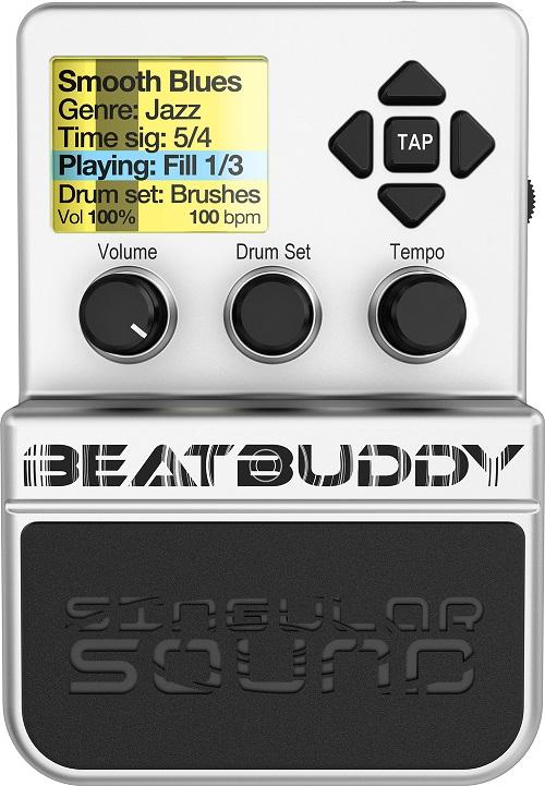 BeatBuddy(ビート・バディ)世界初のギターペダル型のドラムマシン