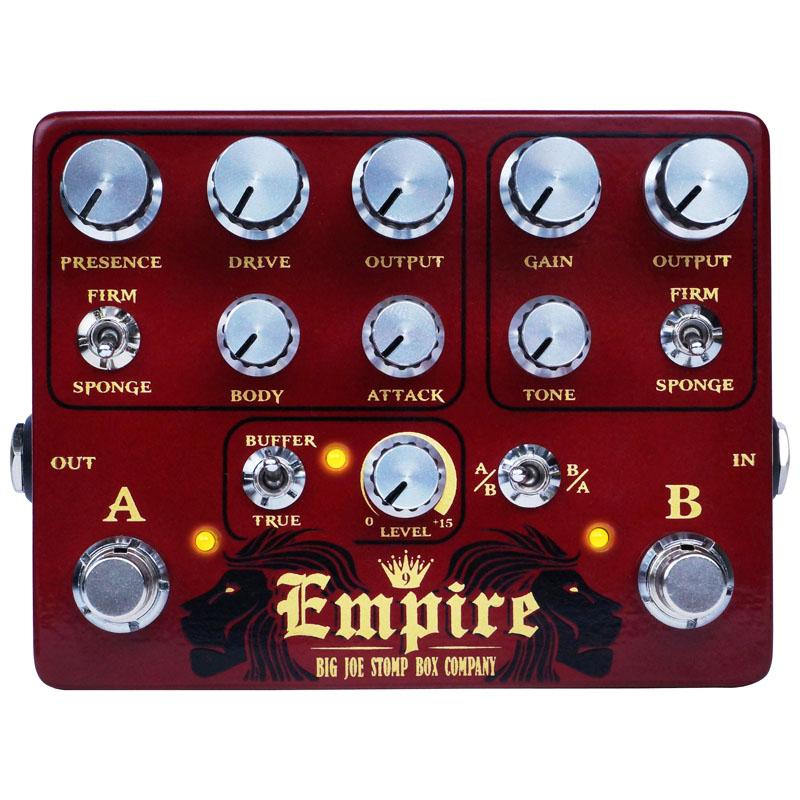 (お取り寄せ)BIG JOE B-502 Empire/エンパイア デュアルプリアンプ・オーバードライブ