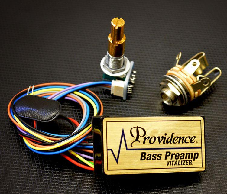 (お取り寄せ)Providence Vitalizer-B1-2(2BAND EQ PREAMP) プロビデンス ベース搭載用アクティブサーキット