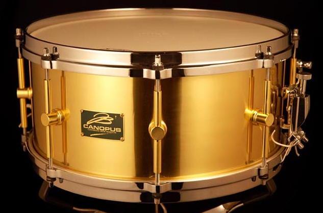 CANOPUS B-1465 The Brass 14x6.5 ブラス カノウプス スネアドラム B1465