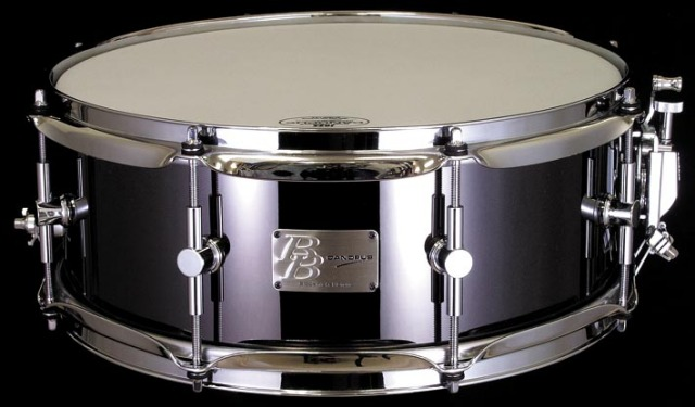 CANOPUS BB-1455 Black-Nickel Brass 14x5.5 ブラス カノウプス スネアドラム BB1455