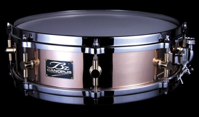 CANOPUS BZ-1440 Bronze 14x4 ブラス カノウプス スネアドラム BZ1440