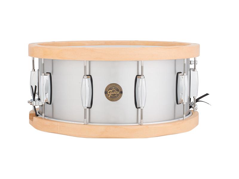 Gretsch/グレッチ スネアドラム S1-6514A-WH Aluminum / Wood Hoop Snare