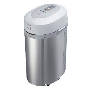 (お取り寄せ)パナソニック (Panasonic) 家庭用生ごみ処理機(乾燥式)MS-N53-S シルバー