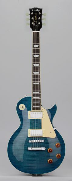 (お取り寄せ)Grass Roots G-LP-60S STBS グラスルーツ エレキギター レスポールタイプ GLP60S STBS See Thru Blue Sunburst
