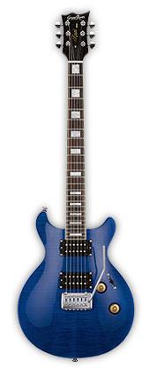 (お取り寄せ)GrassRoots G-KT-48 STB(See Thru Blue) グラスルーツ エレキギター GKT48 STB