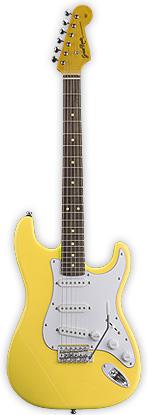 Grass Roots G-SE-50R YELLOW グラスルーツ エレキギター イエロー ストラトキャスタータイプ GSE50R