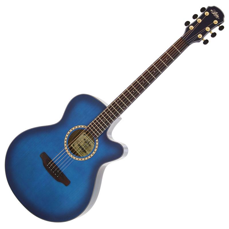 (お取り寄せ)ARIA TG-1 SBL(シースルーブルー) アリア アコースティックギター アコギ