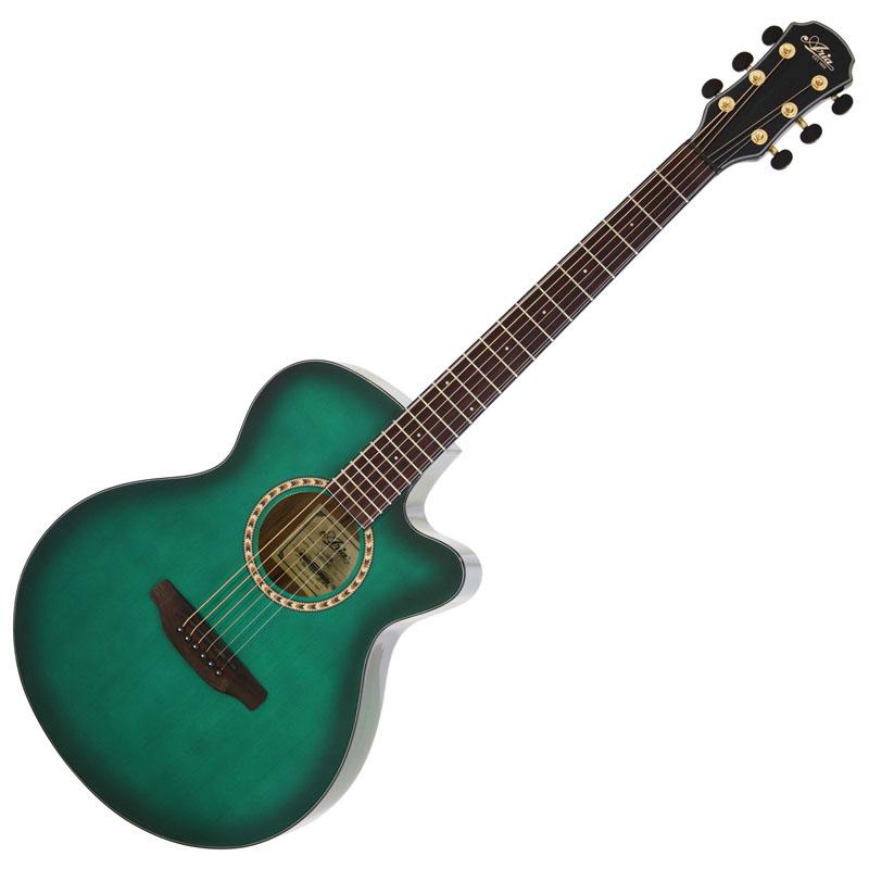 (お取り寄せ)ARIA TG-1 SGR(シースルーグリーン) アリア アコースティックギター アコギ