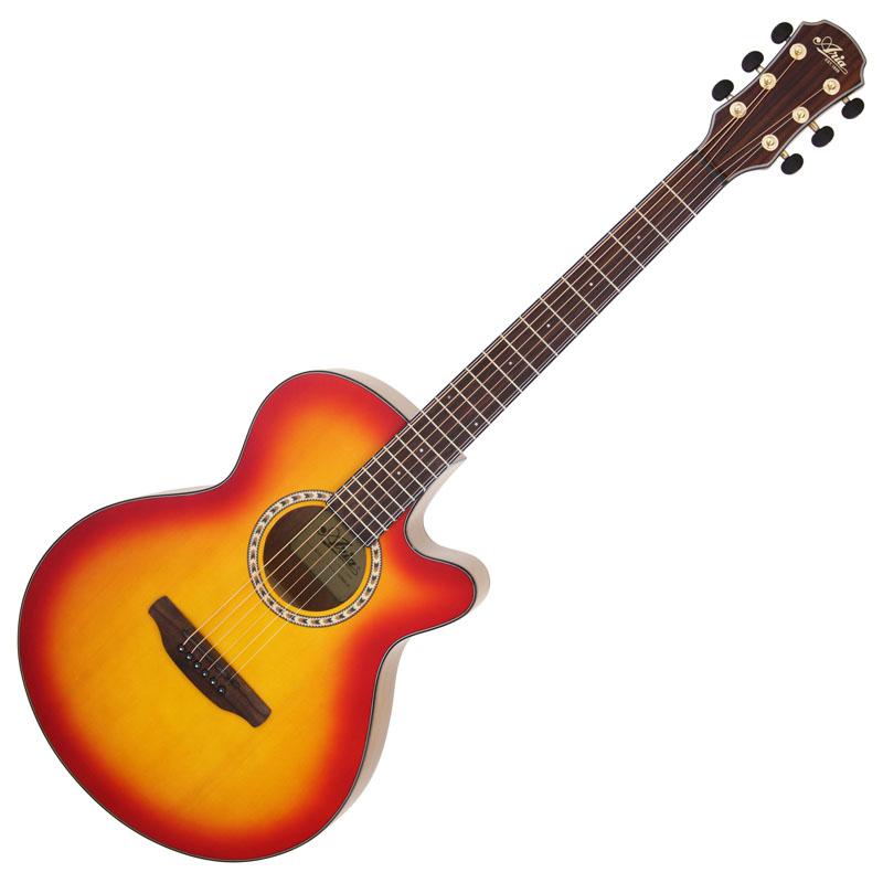 (お取り寄せ)ARIA TG-1 CS(チェリーサンバースト) アリア アコースティックギター アコギ