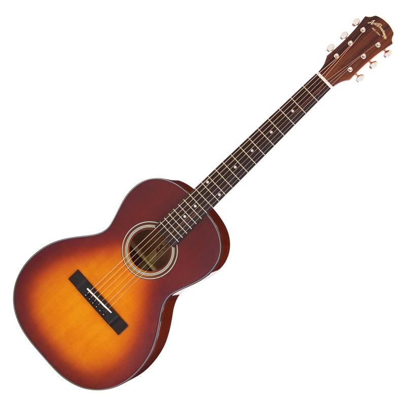 ARIA ADL-231 TS/Tobacco Sunburst アリア アコースティックギター 小ぶりなボディのパーラーギター *ギグケース付き