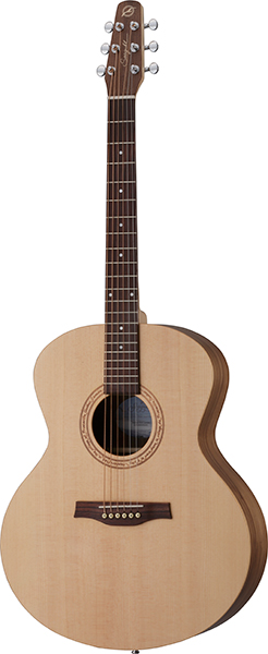 Seagull Excursion Walnut Mini Jumbo SG シーガル アコースティックギター 専用ギグケース付き