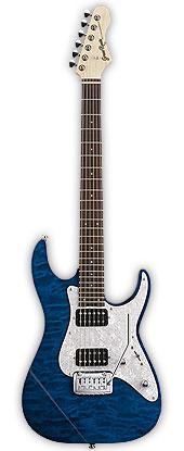 Grass Roots G-MR-55R See Thru Blue グラスルーツ エレキギター(GMR55R)