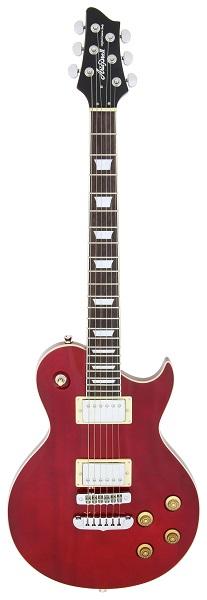 (お取り寄せ)Ariapro2 PE-350 WR(Wine Red) アリアプロ2 エレキギター *ソフトケース付き