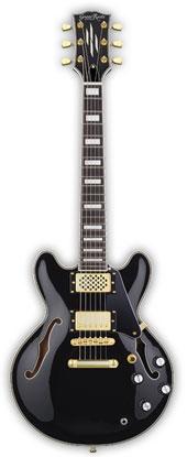 (お取り寄せ)GrassRoots Mini Guitar Series G-SAC-MINI(Black)グラスルーツ アンプ内蔵ミニエレキギター *ソフトケース付き