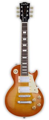 *ソフトケース付き G-LPS-MINI/2H(Vintage Honey (お取り寄せ)GrassRoots ミニエレキギター Mini Guitar Burst)グラスルーツ Series