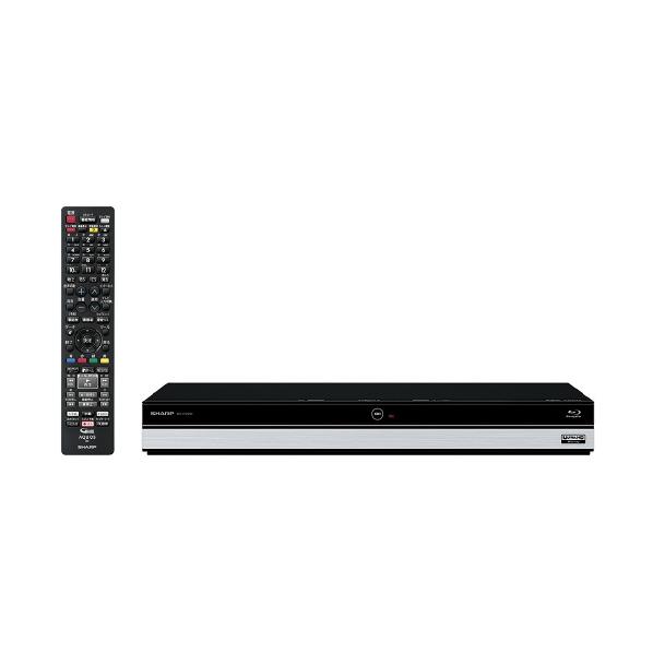 (物流在庫あり)シャープ 2TB HDD内蔵ブルーレイレコーダー AQUOS ブルーレイ BDUT2200