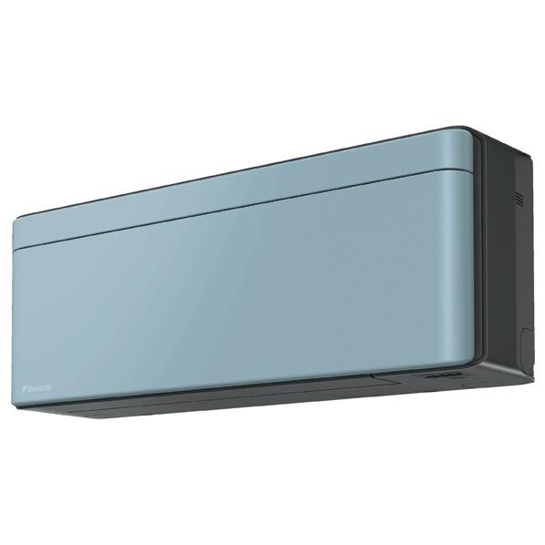 (商品お届けのみ)ダイキン 8畳向け 冷暖房インバーターエアコン risora ソライロ S25VTSXS-A [S25VTSXSAS] ※受注生産品につき、別途日数が必要です。