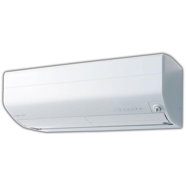 (商品お届けのみ)三菱 MSZ-EM2219E7-Wセット 6畳向け 自動お掃除付き 冷暖房インバーターエアコン KuaL 霧ヶ峰 ピュアホワイト [MSZEM2219E7WS]