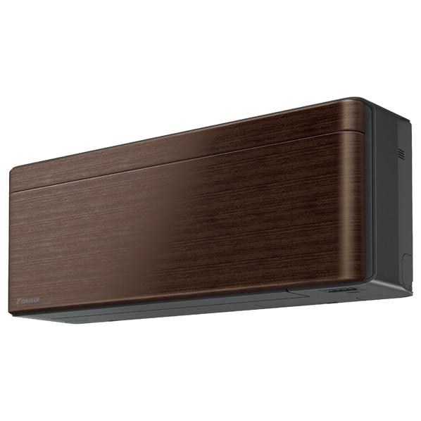(商品お届けのみ)ダイキン AN22WSS-MS 6畳向け 冷暖房インバーターエアコン risora Sシリーズ ウォルナットブラウン [AN22WSSMS]