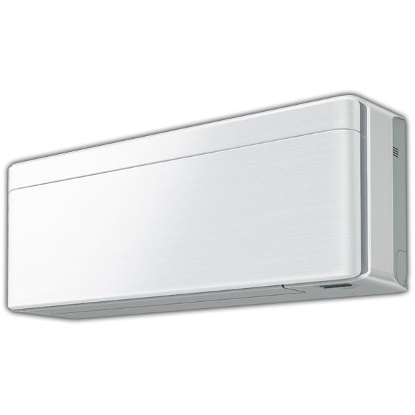 (商品お届けのみ)ダイキン AN25WSS-FS 8畳向け 冷暖房インバーターエアコン risora Sシリーズ ファブリックホワイト [AN25WSSFS]