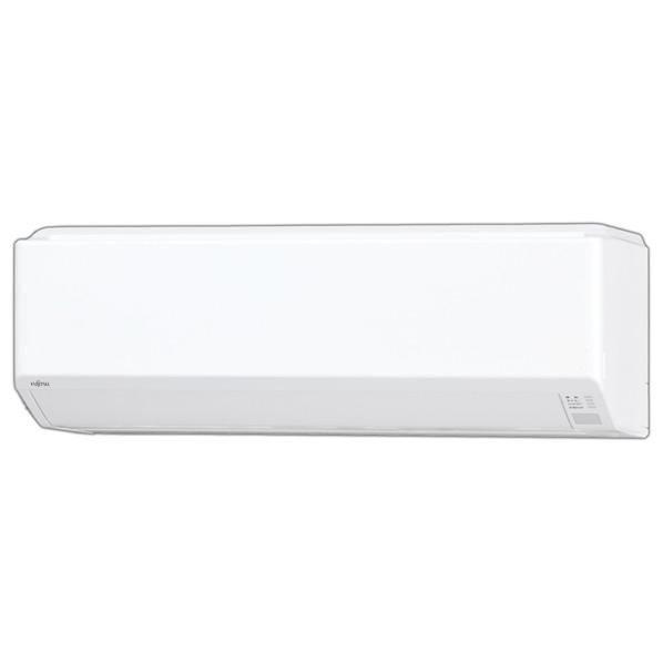 (商品お届けのみ)富士通ゼネラル AS-258EE6S 8畳向け 冷暖房インバーターエアコン KuaL nocria EEシリーズ ホワイト [AS258EE6S]