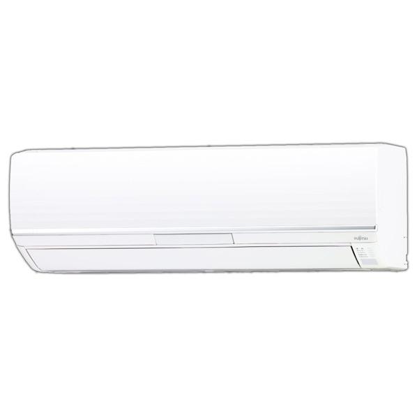 (商品お届けのみ)富士通ゼネラル AS-258CE6S 8畳向け 自動お掃除付き 冷暖房インバーターエアコン KuaL nocria CEシリーズ ホワイト [AS258CE6S]