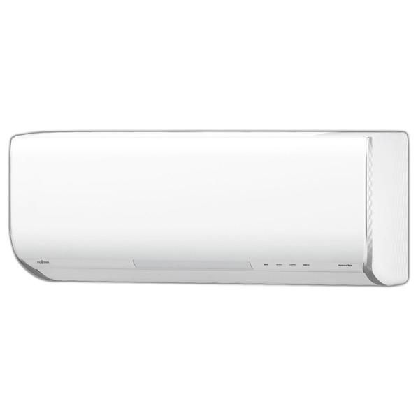 (商品お届けのみ)富士通ゼネラル AS-258HE6S 8畳向け 自動お掃除付き 冷暖房インバーターエアコン KuaL nocria HEシリーズ ホワイト [AS258HE6S]