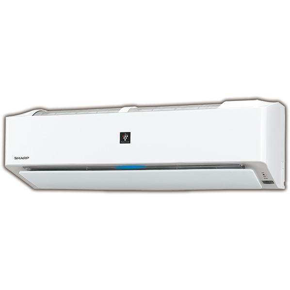 (商品お届けのみ)シャープ AYH25EE6S 8畳向け 自動お掃除付き 冷暖房インバーターエアコン KuaL プラズマクラスターエアコン ホワイト