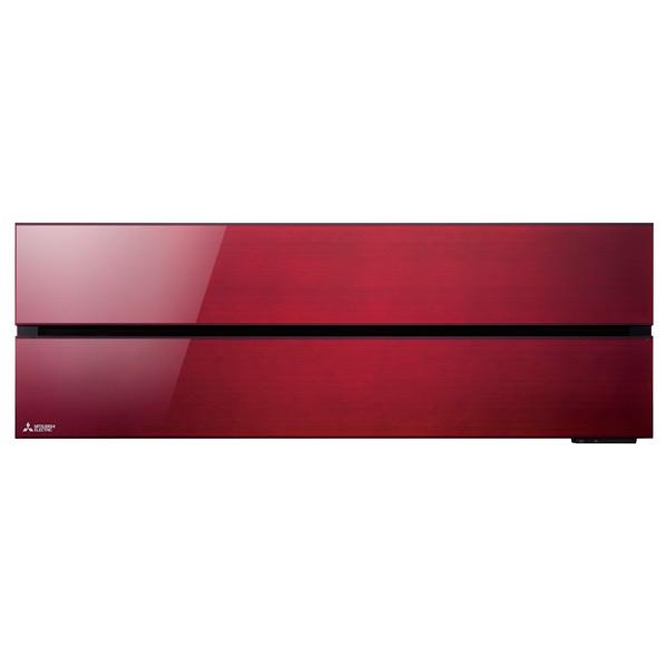 (商品お届けのみ)三菱 MSZ-FL2818-Rセット 10畳向け 冷暖房インバーターエアコン 霧ヶ峰 ボルドーレッド [MSZFL2818RS]