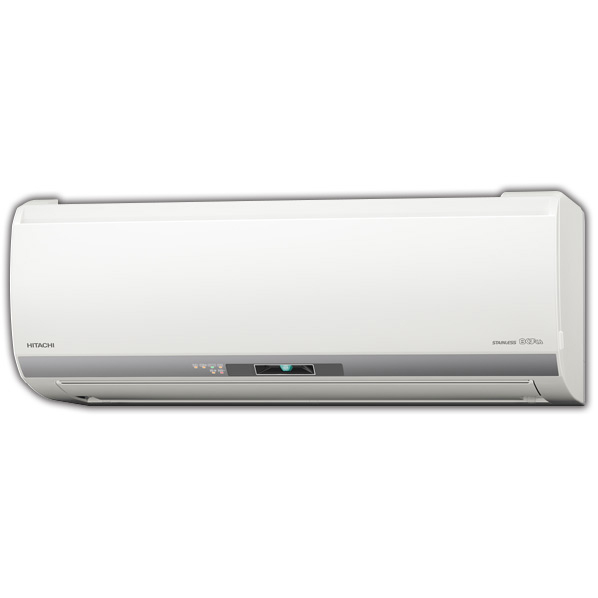 (商品お届けのみ)日立 RASEH40H2E6WS 14畳向け 自動お掃除付き 冷暖房インバーターエアコン KuaL ステンレス・クリーン 白くまくん スターホワイト