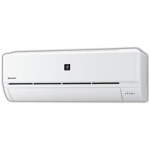 (商品お届けのみ)シャープ AYJ40DE7S 14畳向け 冷暖房インバーターエアコン KuaL プラズマクラスターエアコン ホワイト