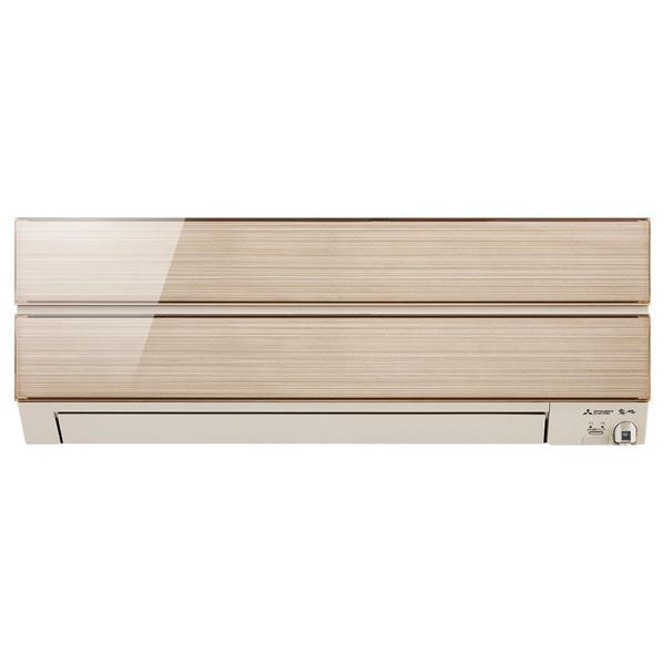 (商品お届けのみ)三菱 MSZ-ES5619S-Nセット 18畳向け 冷暖房インバーターエアコン オリジナル 霧ヶ峰Style シャンパンゴールド [MSZES5619SNS]