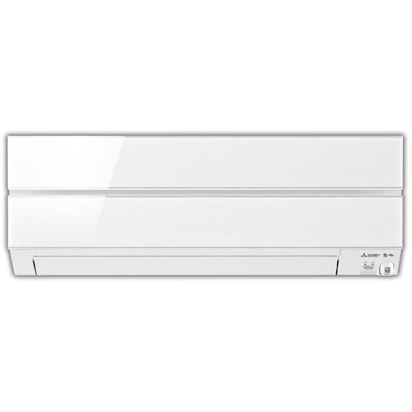 (商品お届けのみ)三菱 MSZ-ES5619S-Wセット 18畳向け 冷暖房インバーターエアコン オリジナル 霧ヶ峰Style パウダースノウ [MSZES5619SWS]