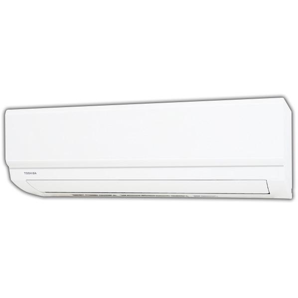 (商品お届けのみ)東芝 RAS-F221MWS 6畳向け 冷暖房インバーターエアコン ホワイト [RASF221MWS]