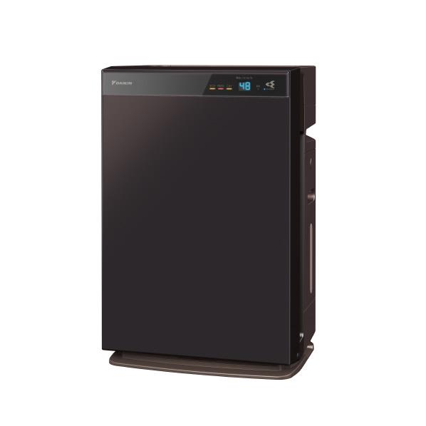 (在庫あり)ダイキン MCK70WE7-T 加湿空気清浄機 KuaL ダークブラウン [MCK70WE7T]