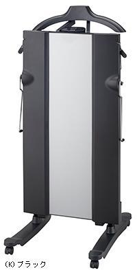 除菌*1も消臭もできる!スタンダードタイプ。 (納期目安:1-2週間)東芝 (TOSHIBA) ズボンプレッサー ブラック スタンド型 HIP-T56-K(長期安心保障対象商品)