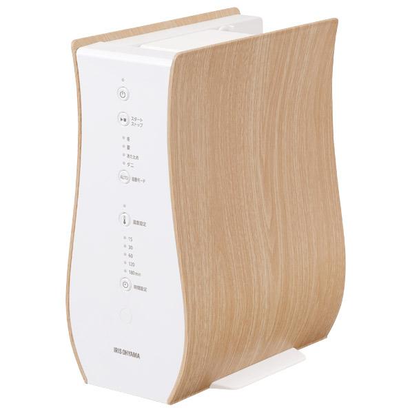 曲線が柔らかな木目が調和したデザイン 納期目安:1-2週間 実物 アイリスオーヤマ FK-D1-NO 上品 ふとん乾燥機 FKD1NO デザインタイプ ナチュラルオーク カラリエ